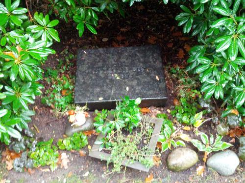 Gedenkstein am ehemaligen Friedhof der Kinderfachabteilung Waldniel-Hostert.