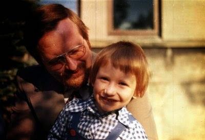 Mein Vater und ich in Ulm
